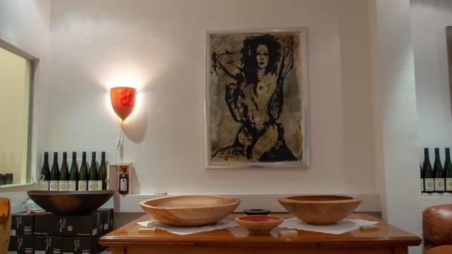Holzkunst mit Künstler Paul Wögerer-Moreau und Rene Stelzer