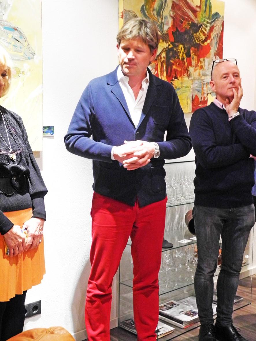 Veranstaltung Wein trifft Kunst
